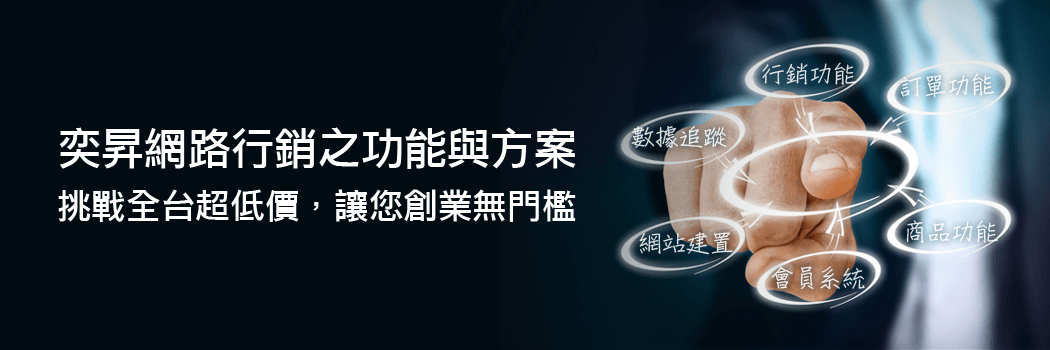 功能與方案│奕昇網路廣告行公司